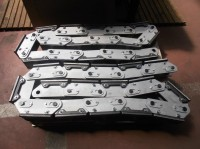Conveyor chain zinc-plated