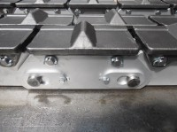 Attachment conveyor chain zinc-plated